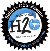 École de surf H2O Bidart